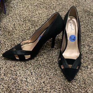 Stunning black Quipid pumps! Size 7.5